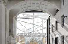 Modern Neoclassical Building Extensions - The Sammy Ofer Centre Transforms an Old Building Design