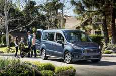 Boomer-Targeted Minivans - The 2019 Ford Transit Connect Wagon is for Boomers with Active Lifestyles