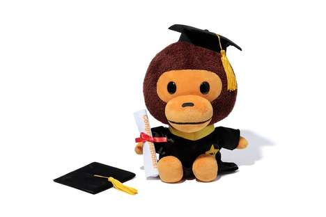 Plush Monkey Graduation Gifts