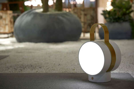 Railway-Inspired Portable Lamps