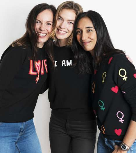 Women's Rights-Focused Apparel - Women for Women International Collaborated with Chinti & Parker