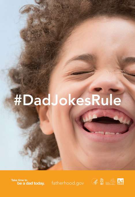 Dad Joke Ad Campaigns - These Humorous PSAs Highlight the Importance of a Father's Involvement