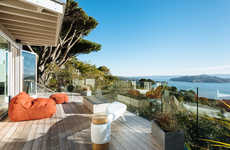Tranquil Contemporary Homes - The Sausalito Outlook is a Modern Home on the San Francisco Bay