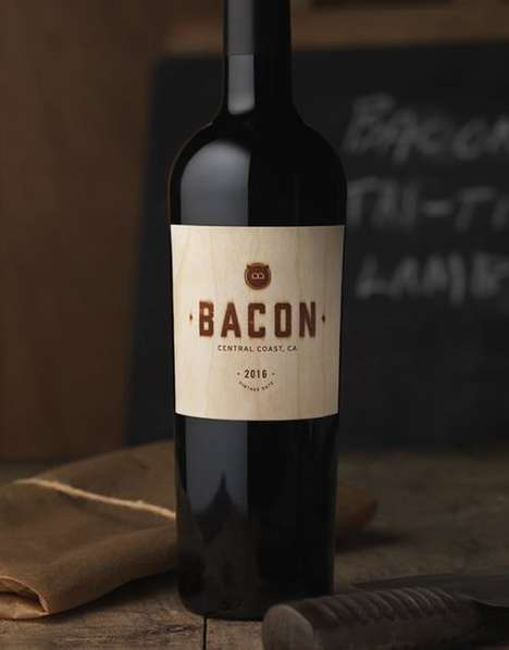Bacon-Inspired Wines