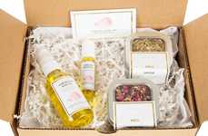 Skincare Mood Oil Sets - The 'MOODset' Collection by Essential Rose Life Matches One's Emotions
