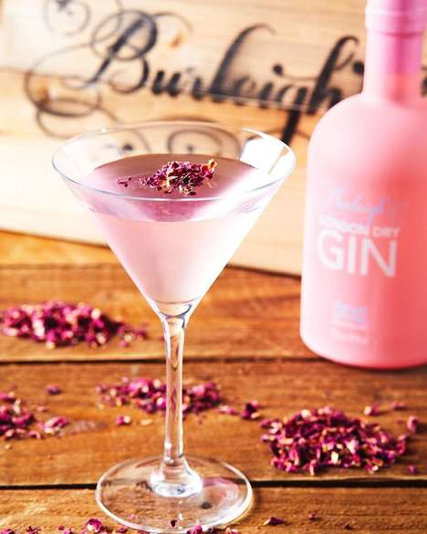 Romantic Mail-Order Cocktails - Burleighs Launched a Special 'Mail a Martini' for Valentine's Day