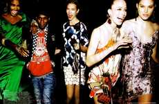 "Socialite Party Editorials - 'I Love The Nightlife"" in Vogue"