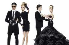 Real Models as Dolls - Karl Lagerfeld Shoots Baptiste Giabiconi as Ken With Barbie