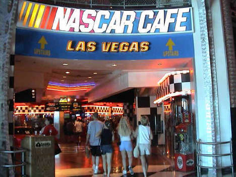 6-Pound Burritos - Las Vegas' NASCAR Cafe Bets You Can't Finish the Bomb Burrito