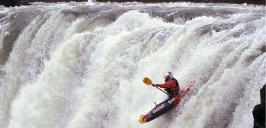 Jet Kayaking