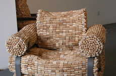 Artistic Cork Chairs - The Korkart Furniture Genius of Germany's Gabriel Wiese