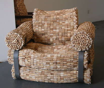 Artistic Cork Chairs