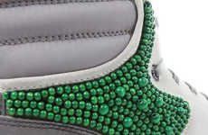 Beaded Sneakers - Lucas Ossendrijver Channels the Crafting Vibe for Lanvin S/S '09