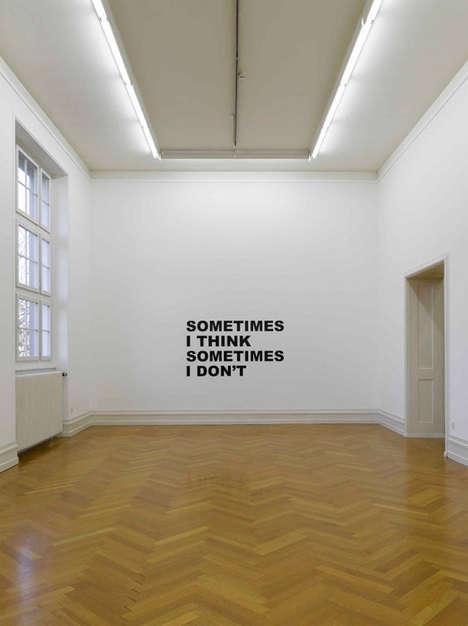 Text-Based Exhibits