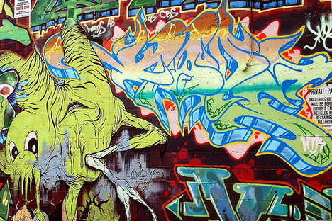 Dr. Seuss-Inspired Street Art