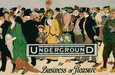 Vintage Subway Ads - Using Old London Underground Campaigns to Inspire New Creativity