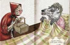 Elderly Fairytale Heroines - Sabugosa Ad Illustrates That Children's Books Last Forever