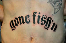 Fishing-Inspired Tattoos - Body Art to Fall for Hook, Line and Inker