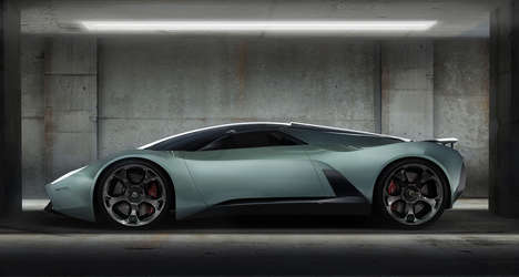 The Lamborghini Insecta Concept Turns Bug to Glass and Carbon Fiber