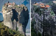 Gravity Defying Monasteries