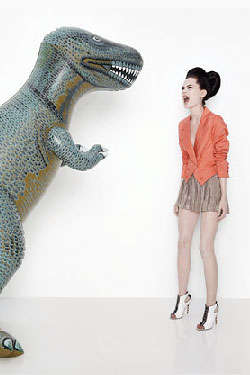 Offbeat Fashion Look Books - Elizabeth & James Spring Pairs Models With Kids' Toys