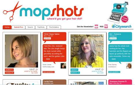 Crowdsourced Hairstyle Look Books - MopShot Lets You Upload and View Great Haircuts