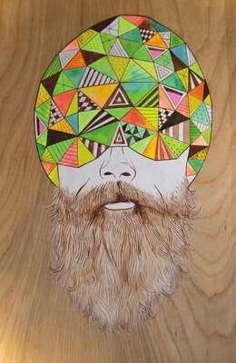 Artistic Facial Hair Collections