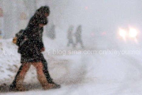 Bare Legs in Winter
