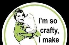 Clever Crafter Maternity Tees - Etsy's MuthaCrafter Proclaims Special People Skills