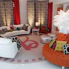 Life-Sized Barbie Mansions - Jonathan Adler Designs Real Malibu Dream House