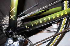 Personalized Pop Art Bikes - KAWS TREK Madone Bicycle for Lance Armstrong Features Graffiti Graphics