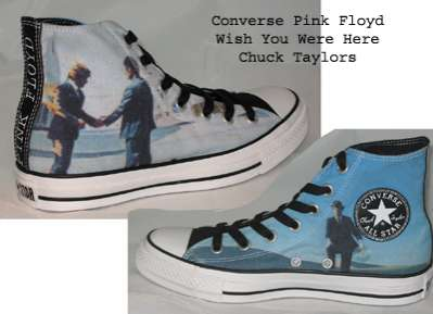 Iconic Album Sneakers: Converse Leaks Images of Pink Floyd