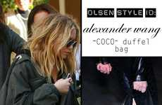 Paparazzi Shots as Ads - Mary-Kate Olsen Is A Real-Life Fashion Mannequin