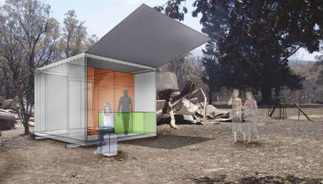 Growing Houses - Dynamic, Cost-Effective 're-Growth' Pods Help Rebuild Communities
