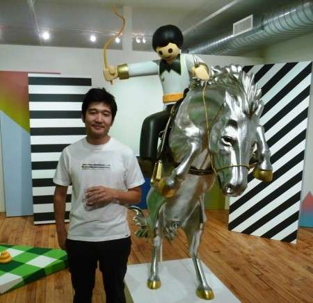 Giant Playmobil-Inspired Jockeys