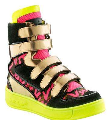 1980s Graffiti-Inspired Sneakers - Psychedelic Boots From Louis Vuitton and Stephen Sprouse
