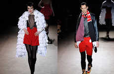 Mickey Mouse-Inspired Fashion - Jeremy Scott Fall '09 RTW Features M-Shaped Bangs & Polka Dots