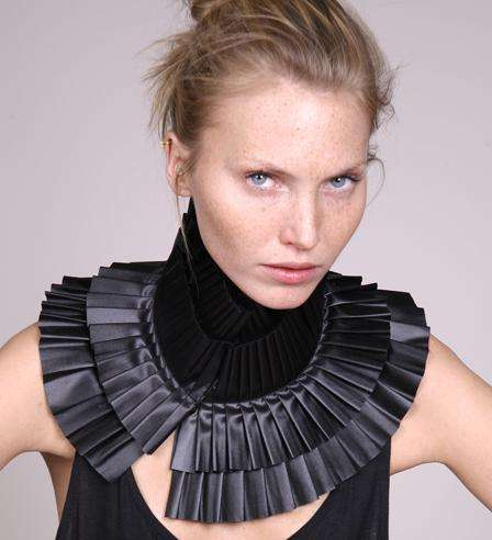 Accordion Neck Wear - Fernanda Pereira's Must-Have Accessories Are All About Pleats