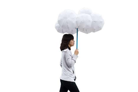 Inflatable Cloud Umbrellas