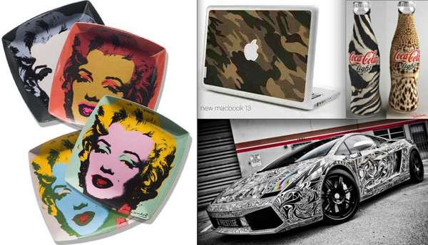 63 Outrageous Skins, Prints and Object Wraps