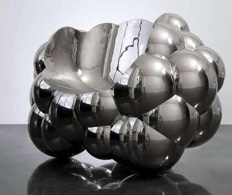 Metallic Bubble Chairs