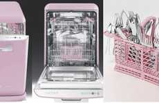 Dishwashers of the Future - 10 Hip Ways to Wash Dishes, From Maytag Drawers to Baby Pink Dishwashers