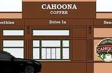 Traffic Jam Cafes - 'Cahoona Coffee' Is Germany's First Coffee Drive-Through