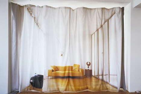 Optical Illusion Curtains