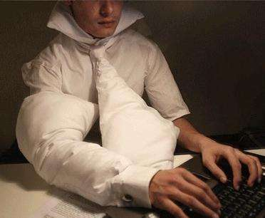 Pillows for Workaholics - This Cushion Prevents Keyboard Crash and Rash Injuries