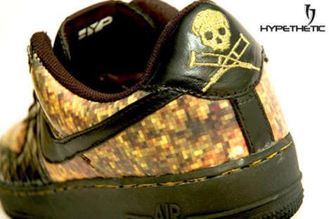 Military Mosaic Sneakers