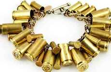 Jewelry for Gunslingers - The Bullet Bracelet Collection
