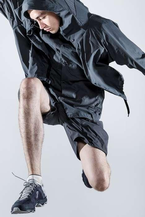 Function-Focused Japanese Sportswear