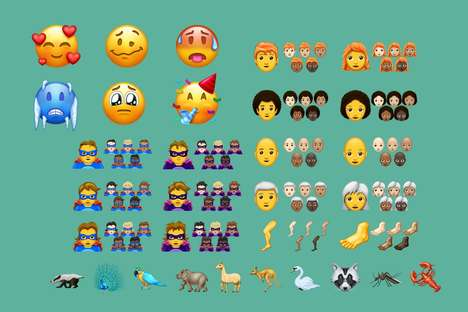 Expanding Emoji Offerings - Apple Will Be Introducing 157 New Emojis in 2018