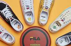 Anime Shoe Collaborations - FILA and Pokemon Have Released a Capsule Sneaker Collection
